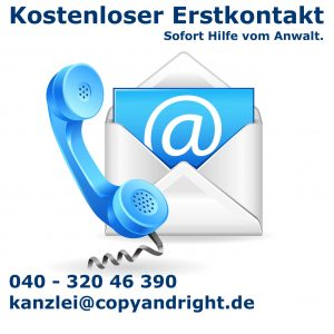 Kontakt copy & right, Rechtsanwaltskanzlei