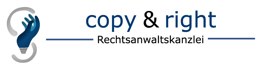 Logo copy & right Rechtsanwalt