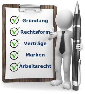 Beratung bei Existenzgründung durch Anwalt - Hamburg