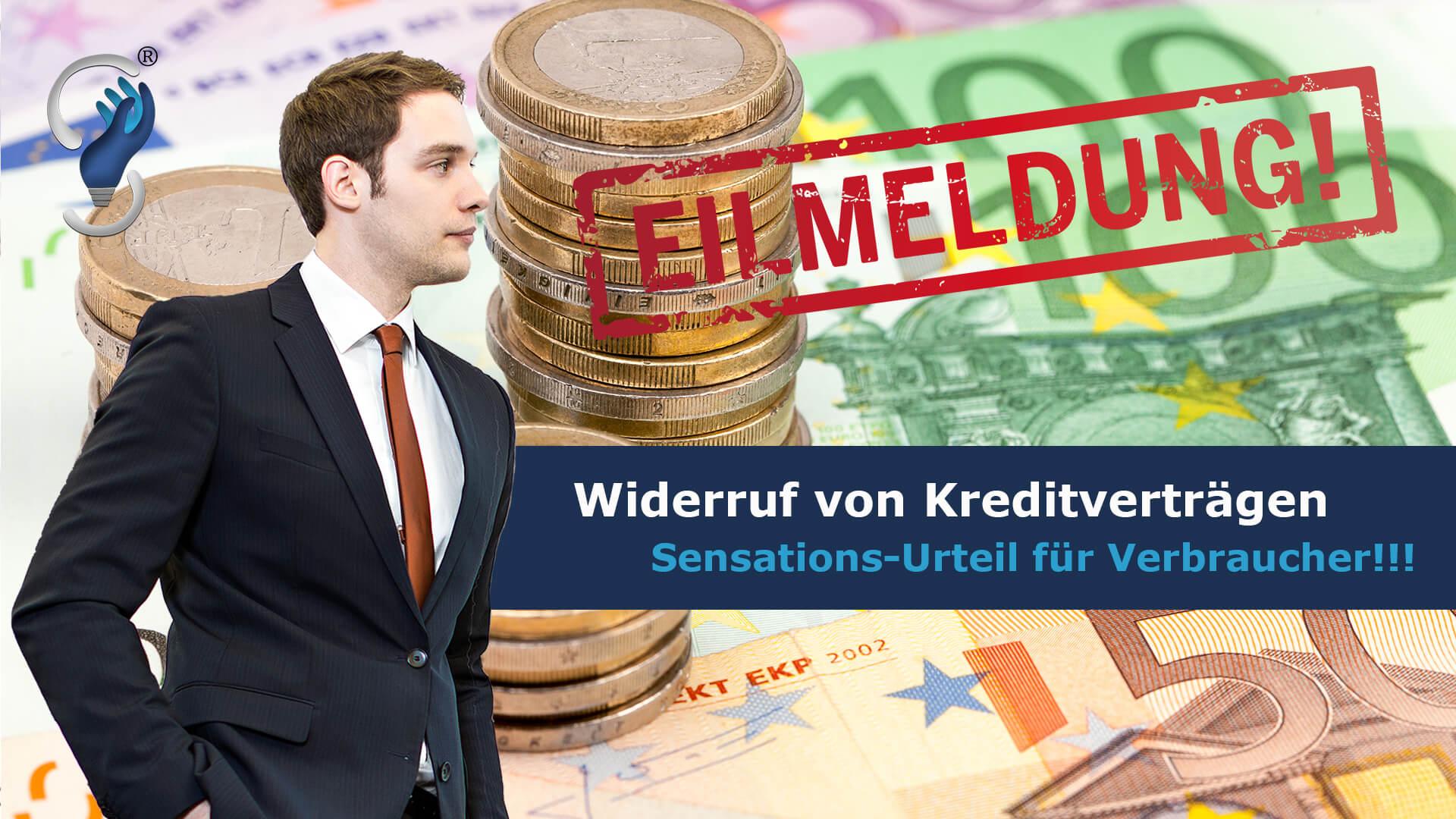 Kredit Widerruf Kreditvertrag autokredit Hauskredit Anwalt Rechtsanwalt Kanzlei EuGH Hamburg Norderstedt